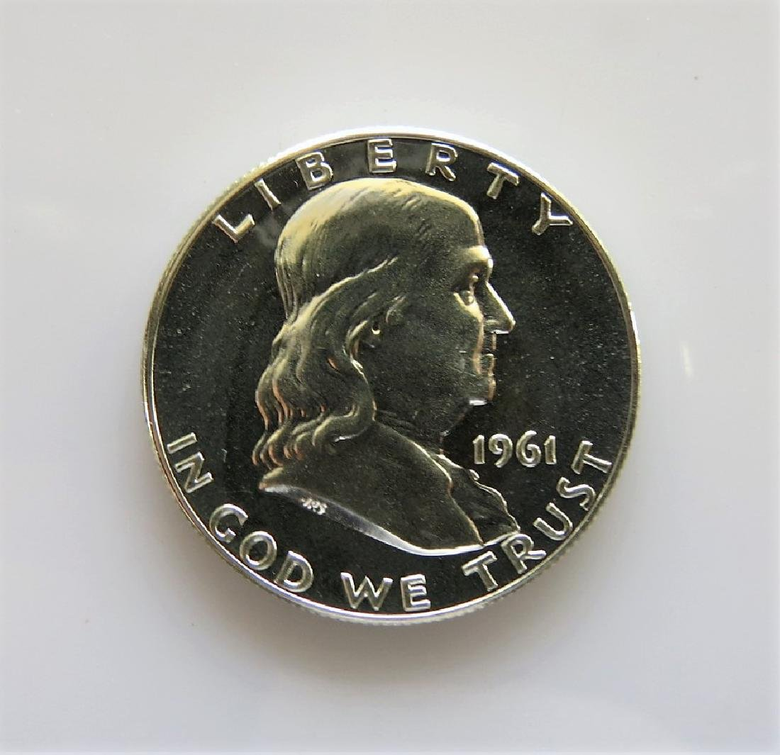 1961 Franklin Half-Dollar Gem Proof