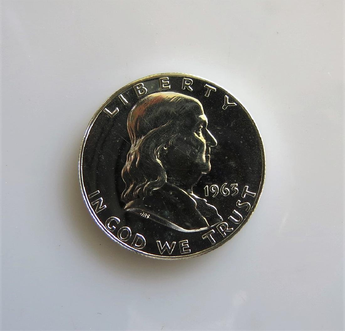 1963 Franklin Half-Dollar Gem Proof