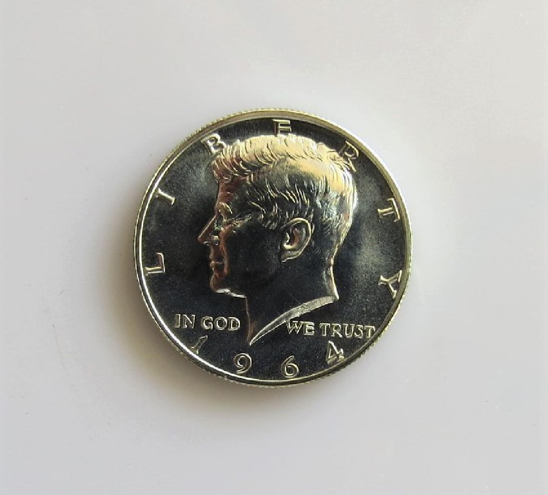 1964 Kennedy Half-Dollar Gem Proof (1A)