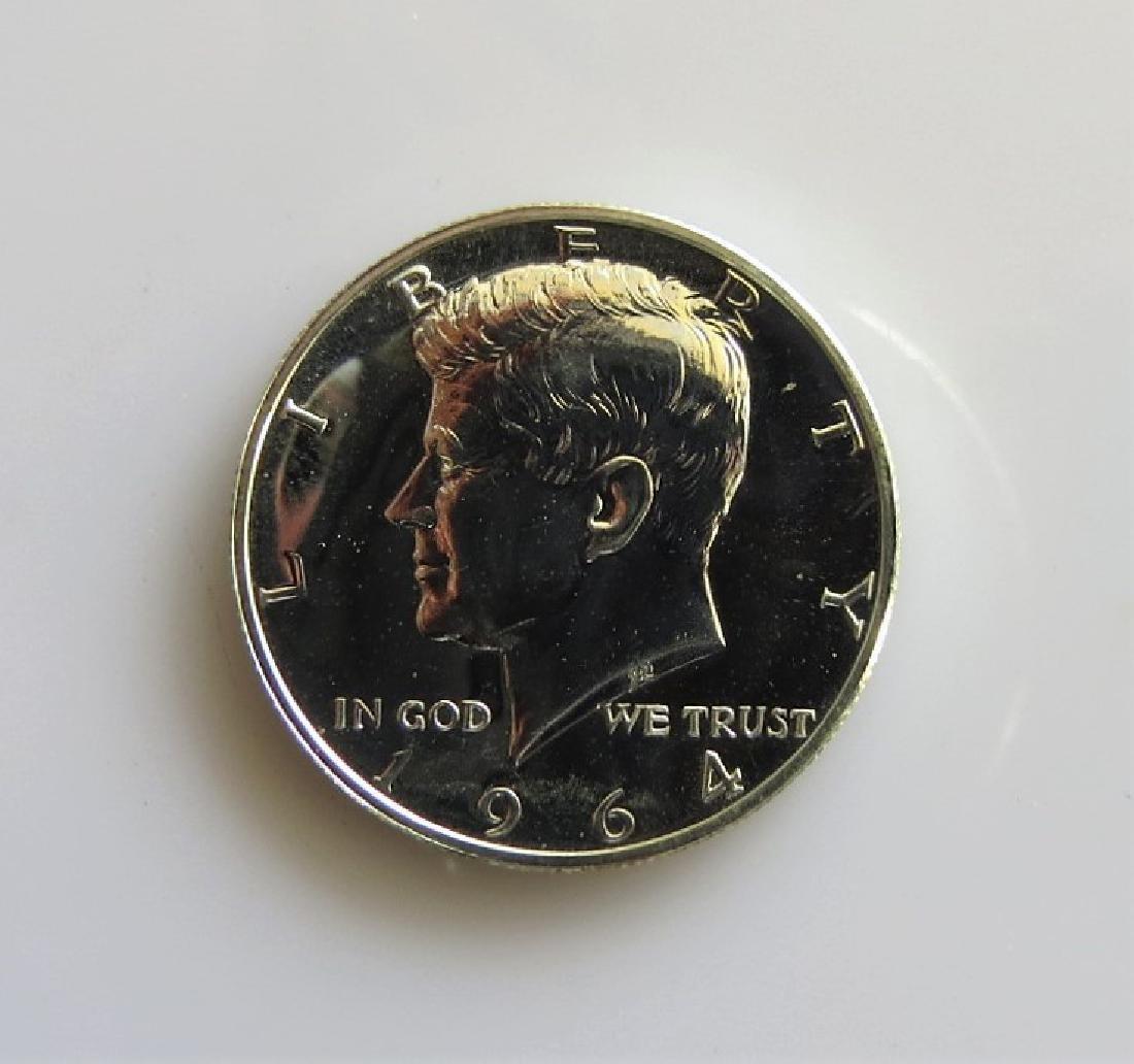 1964 Kennedy Half-Dollar Gem Proof (1B)