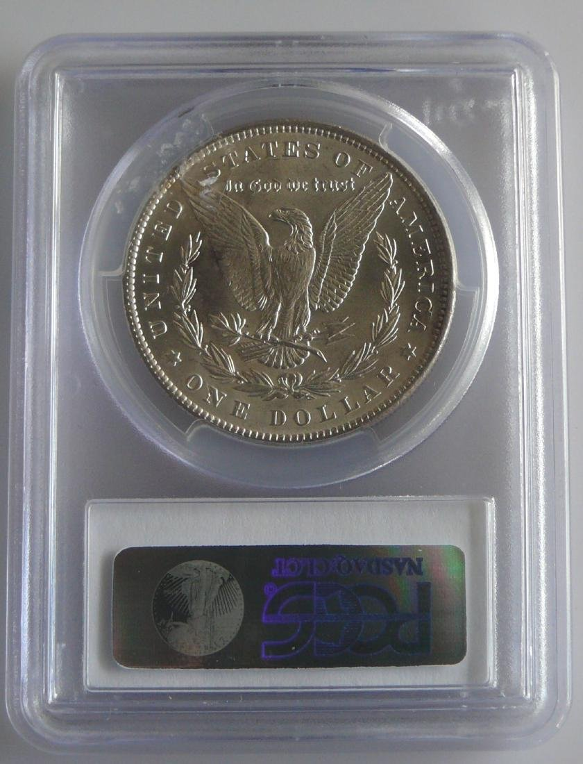 1889 $1 Morgan Dollar PCGS MS62 Hot 50 VAM-16 Double - 2