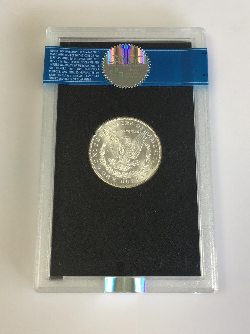 A Frosty -White Key Date 1885-CC GSA Morgan Dollar - 2