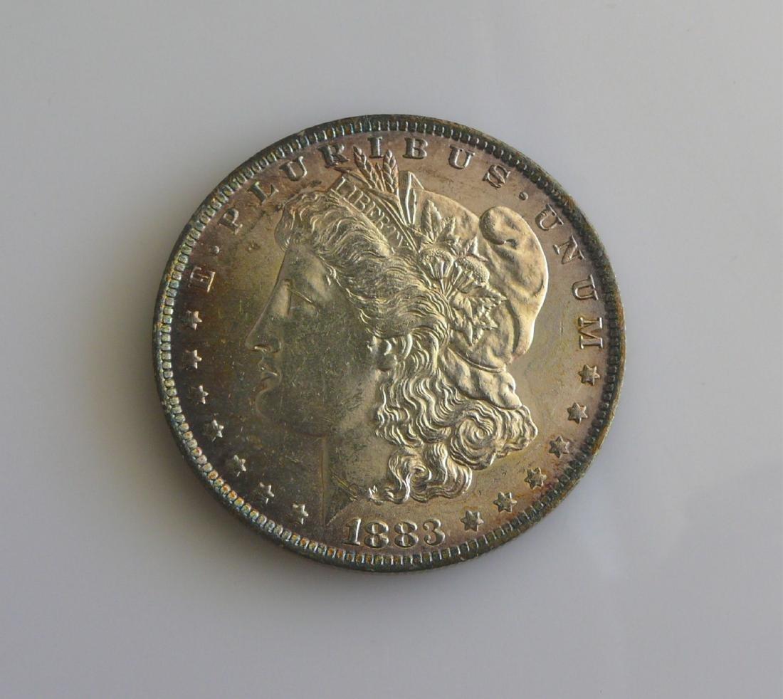 1883 O Gem Uncirculated Morgan Silver Dollar