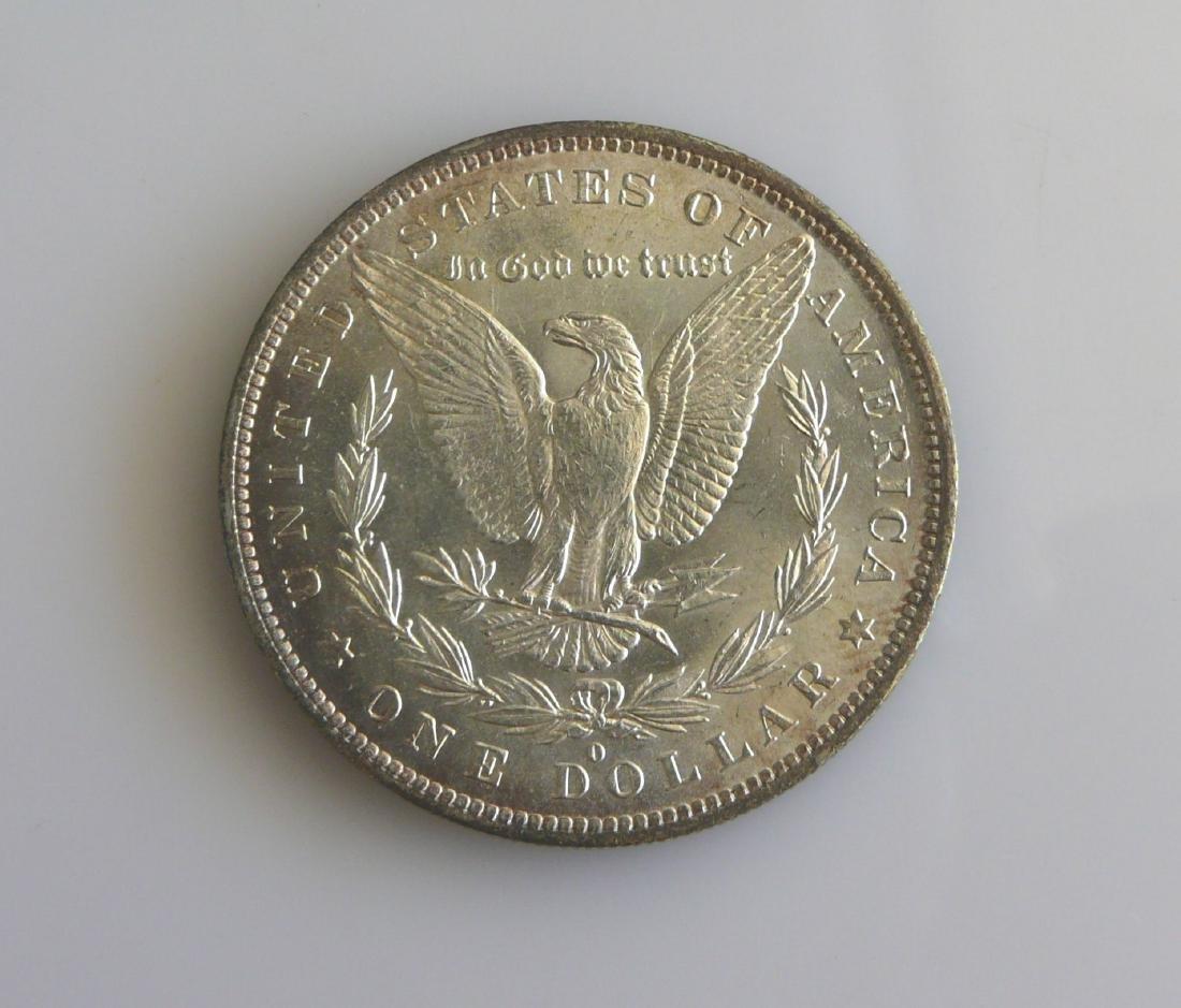 1883 O Gem Uncirculated Morgan Silver Dollar - 2