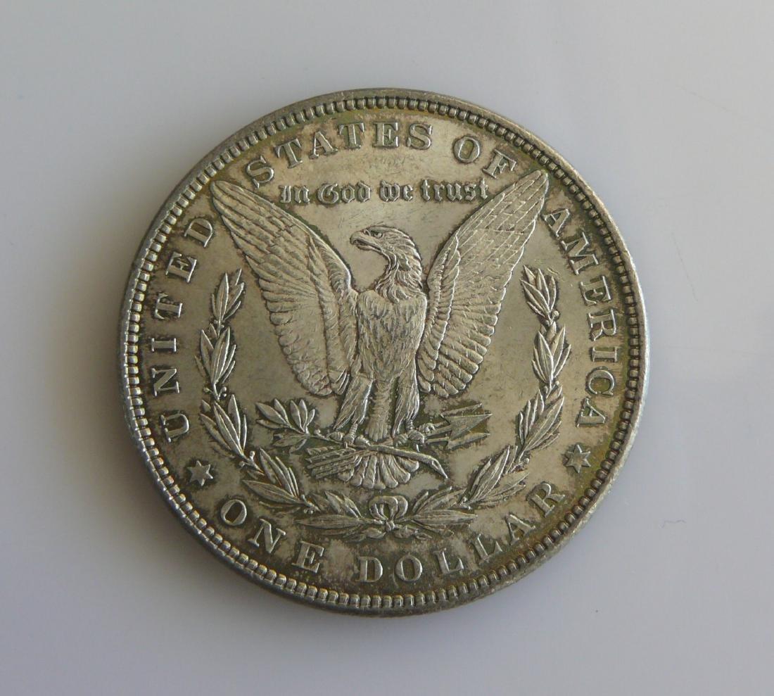 1885 P Superbly Toned Gem Uncirculated Morgan Silver - 2