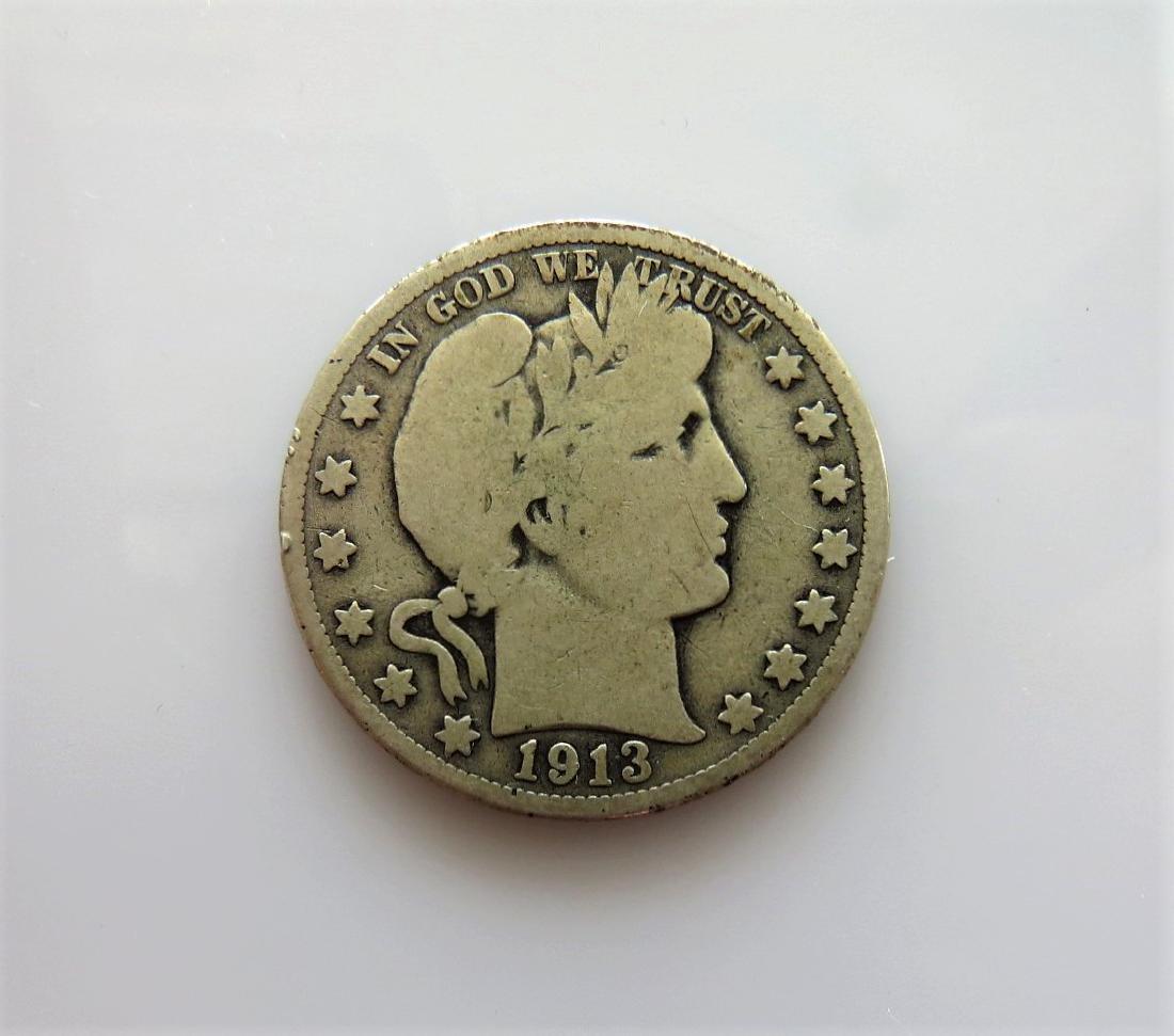 1913 Barber Half-Dollar