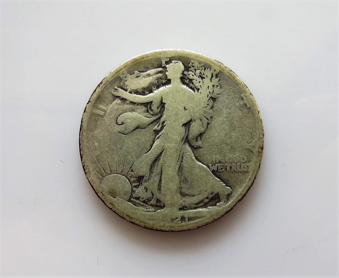 1921 S Walking Liberty Half-Dollar KEY DATE