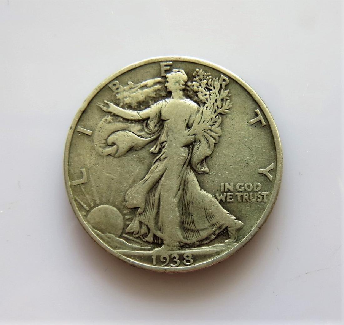 1938 Walking Liberty Half-Dollar KEY DATE