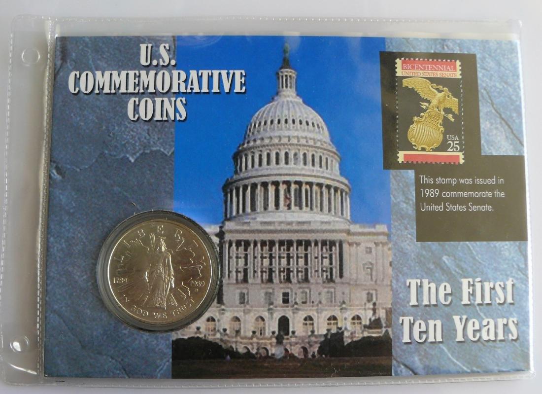 1989 D Uncirculated Congress Bicentennial Commemorative