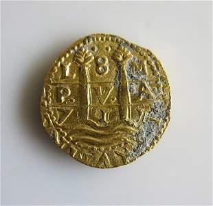 1715 8 Escudo Gold - Fleet-Queens Jewels LLC - 300th