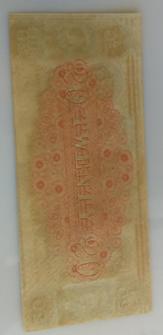Canal Bank Of Louisiana Twenty (20.00) Dollar Note - 2