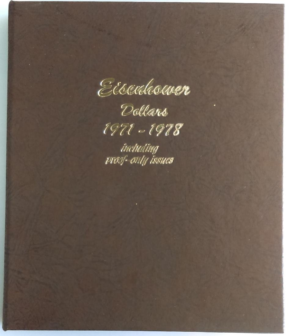 Complete Uncirculated and Proof Eisenhower Silver