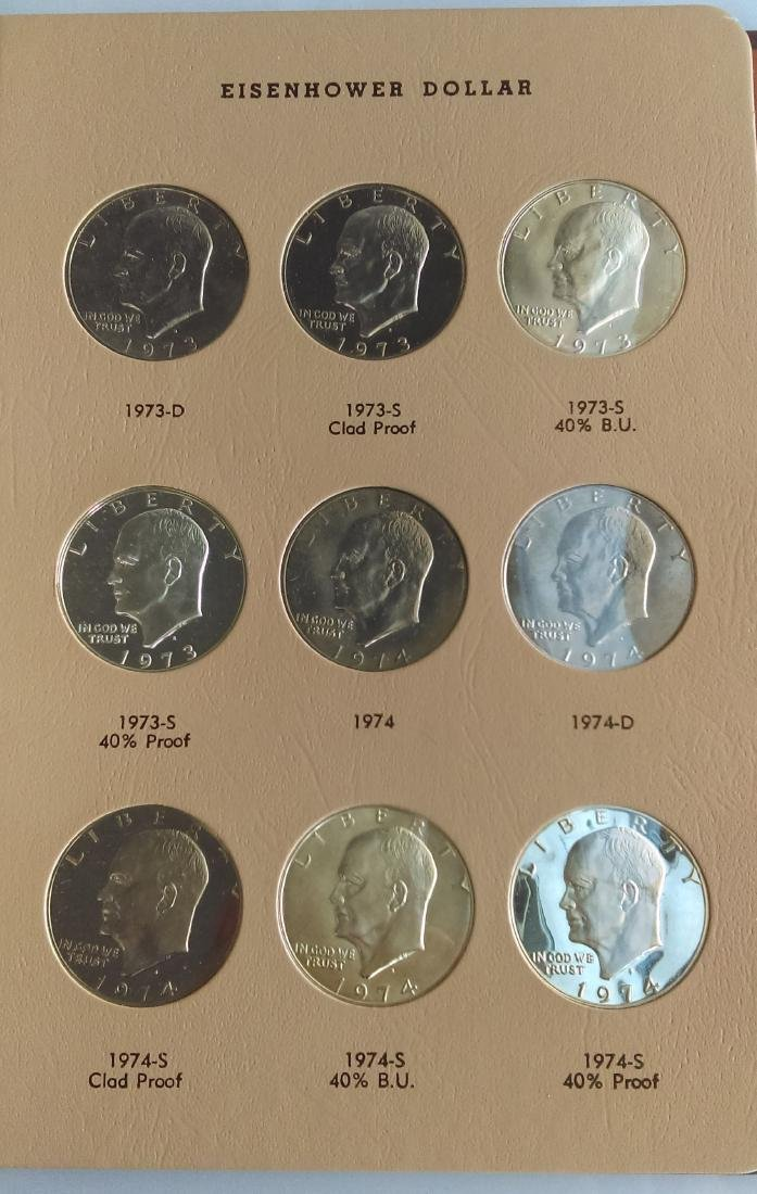 Complete Uncirculated and Proof Eisenhower Silver - 3