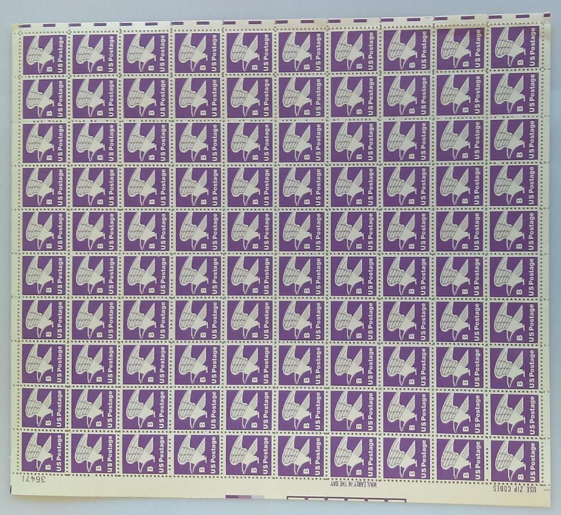 Scott #1818 Eagle B (1981) Domestic Mail Sheet of 100