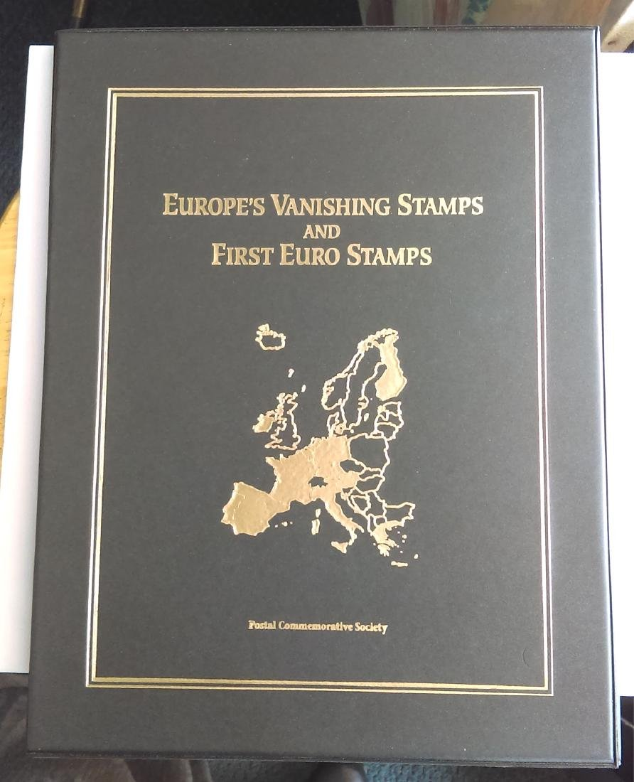 Postal Commemorative Society Last European Stamps and