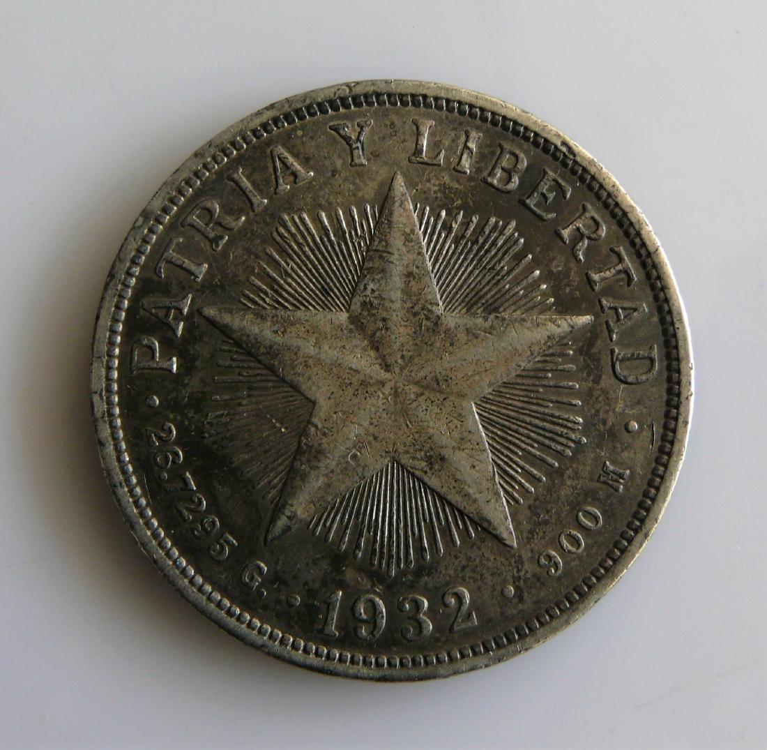 1932 Cuba Un Peso