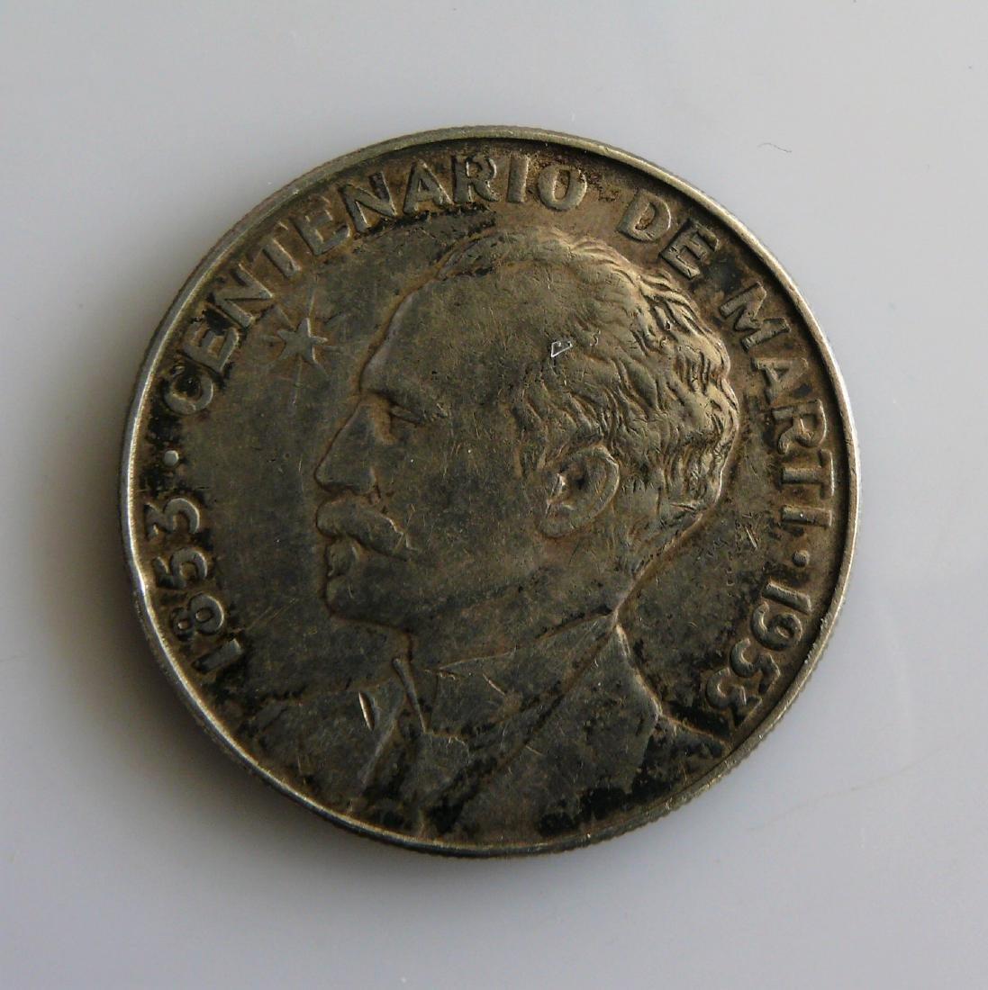 1953 Cuba Un Peso