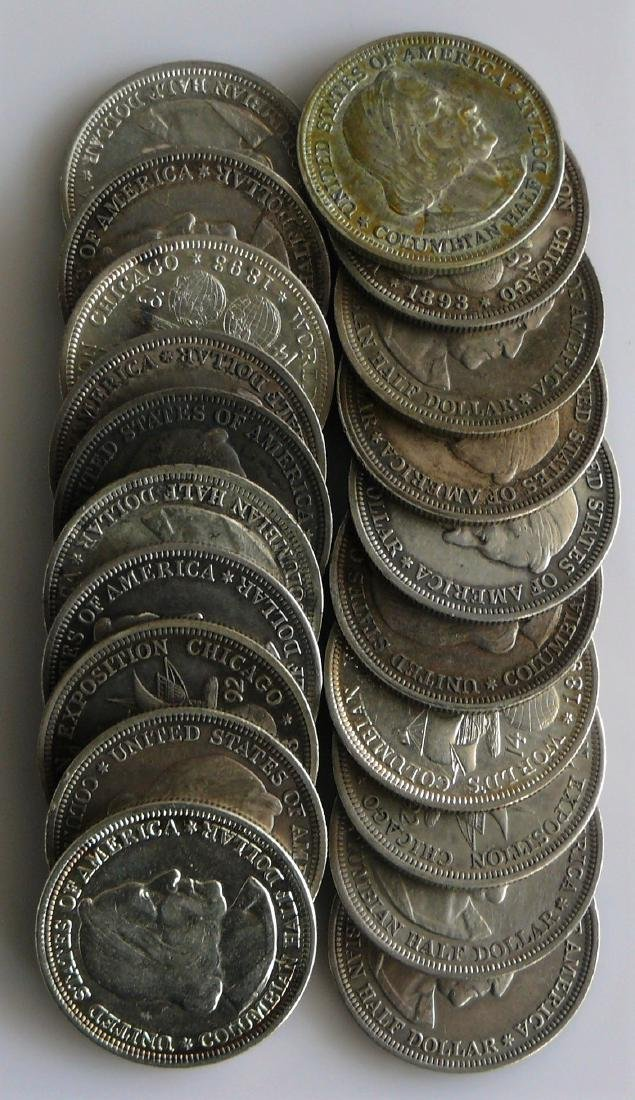 A Twenty (20) Coin Roll of Nicely Circulated U.S. 1892