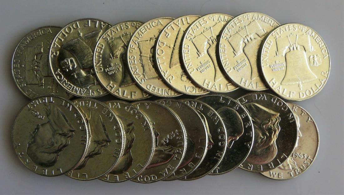 A Twenty (20) Coin Roll of BU Uncirculated 1963-D