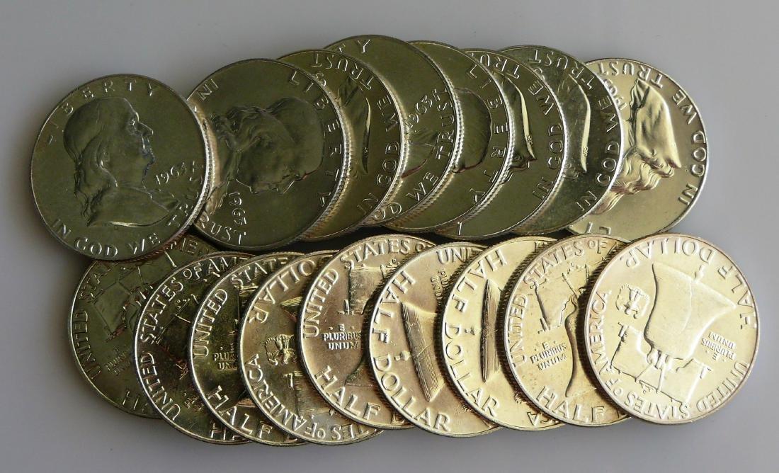 A Twenty (20) Coin Roll of BU Uncirculated 1963-D - 2