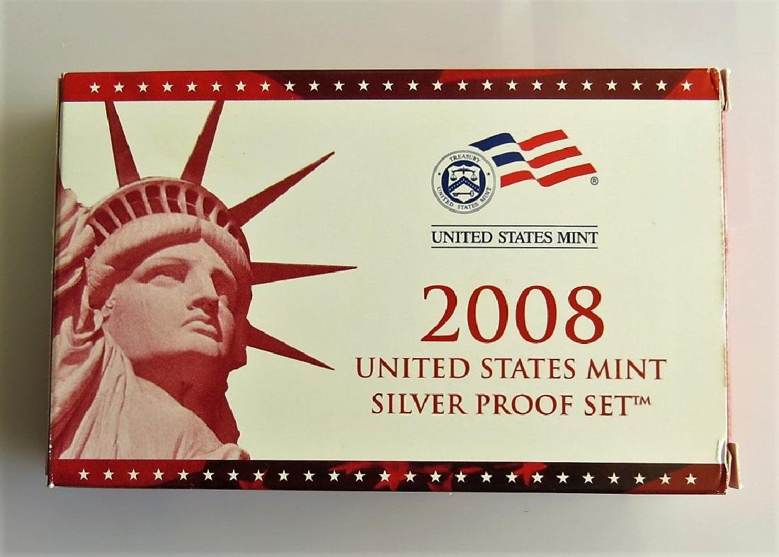 2008-S Silver Proof set