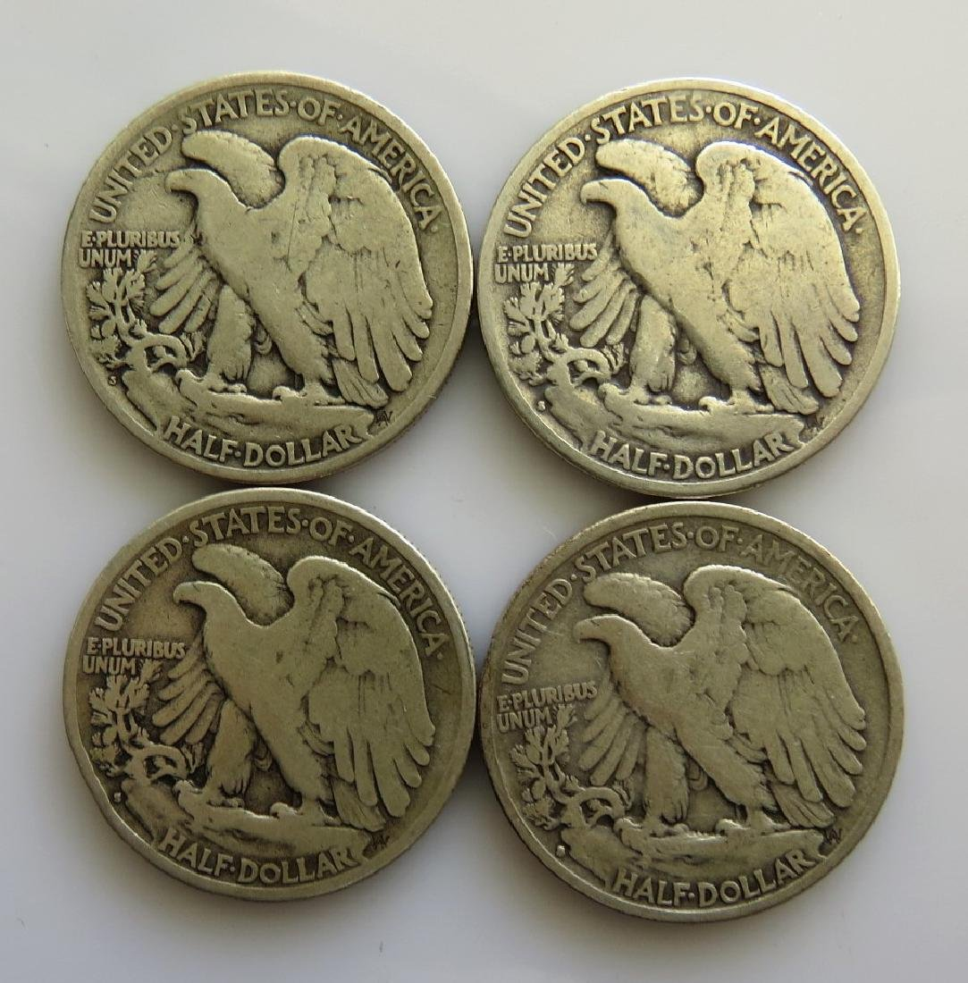 1920 S - 1928 S - 1929 S - 1935 S Walking Liberty - 2