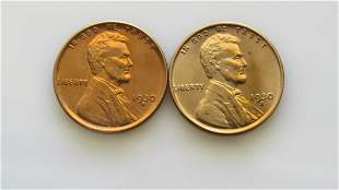 1930-D and 1930-S Choice Uncirculated Lincoln Cents