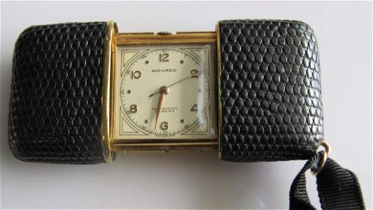 Movado Ermeto Purse Watch