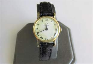 14K Yellow Gold Vintage Omega Watch