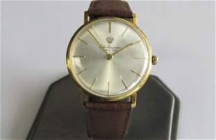 18K Yellow Gold Jules Jurgensen Vintage Watch