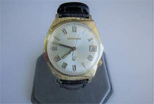 Vintage Bulova Accutron Gold Watch