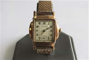 Vintage Gotham 10K Gold Watch