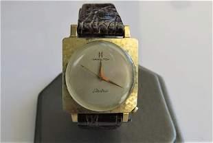 Hamilton Vintage Gold Watch