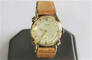 Vintage 10K Yellow Gold Longines Watch