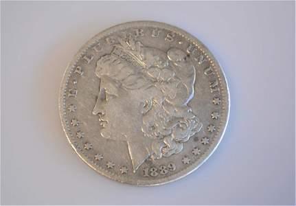 1889 CC Morgan Dollar Key-Date Choice VF