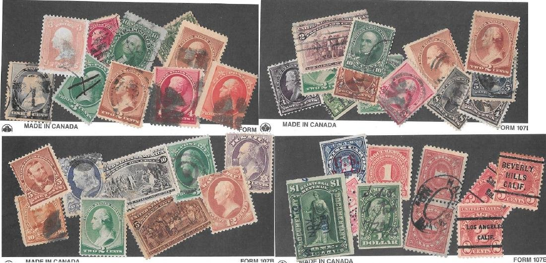 60+ Older US Stamps Inc. Grills, Blackjack & more