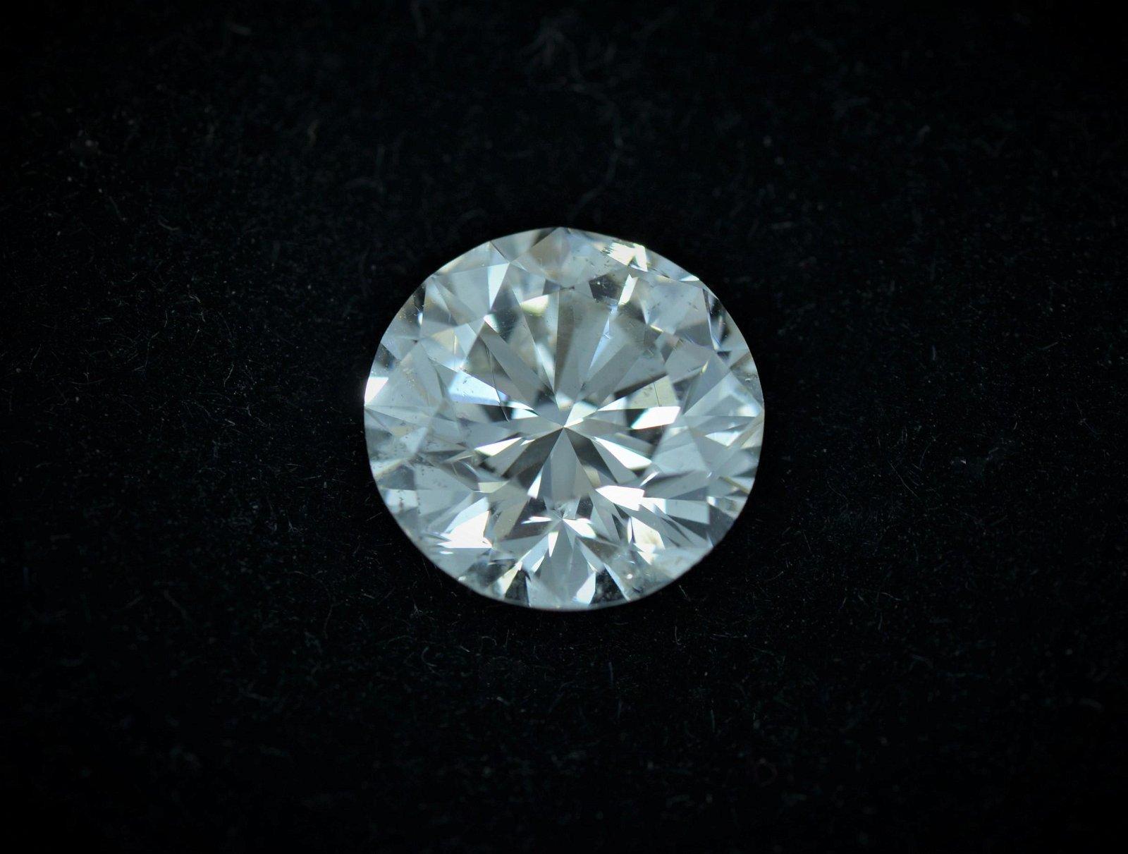 GIA Certified 2.44CT Diamond