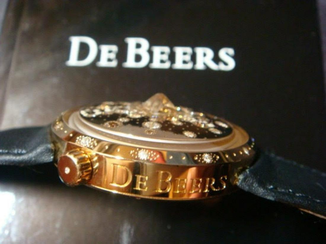 18K Gold De Beers Talisman Suntime Watch