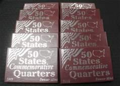 19992008 Denver and Philadelphia State Quarters