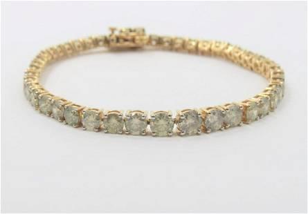 Certified and Appraised 11 CARAT Diamond Bracelet
