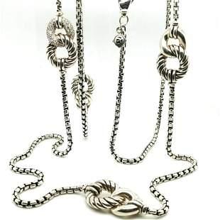 David Yurman Belmont .925 Necklace