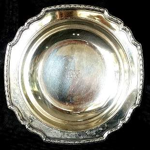 """Tiffany & Co Sterling Silver 9.5"""" Bowl"""