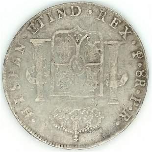1797 PR Bolivia 8 Reales KM73 Choice XF
