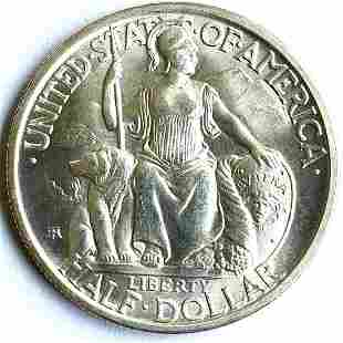 1935 S San Diego Silver Half Dollar UNC