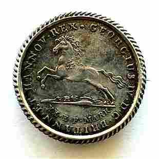 1825 German States Hanover 16 Grochen pin