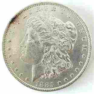 1885 O Morgan Silver Dollar Choice BU