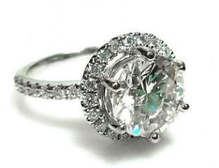 3.27 Carat Diamond Engagement Ring