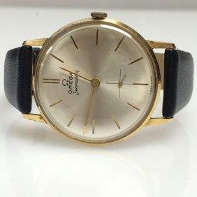 18k Omega Watch Co. Seamaster Watch; Model 42864