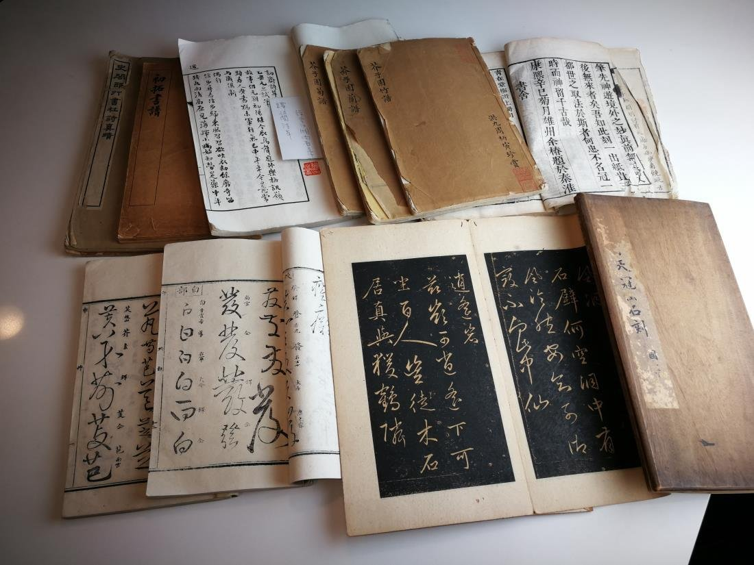 Antique Chinese Books 11 Volumes
