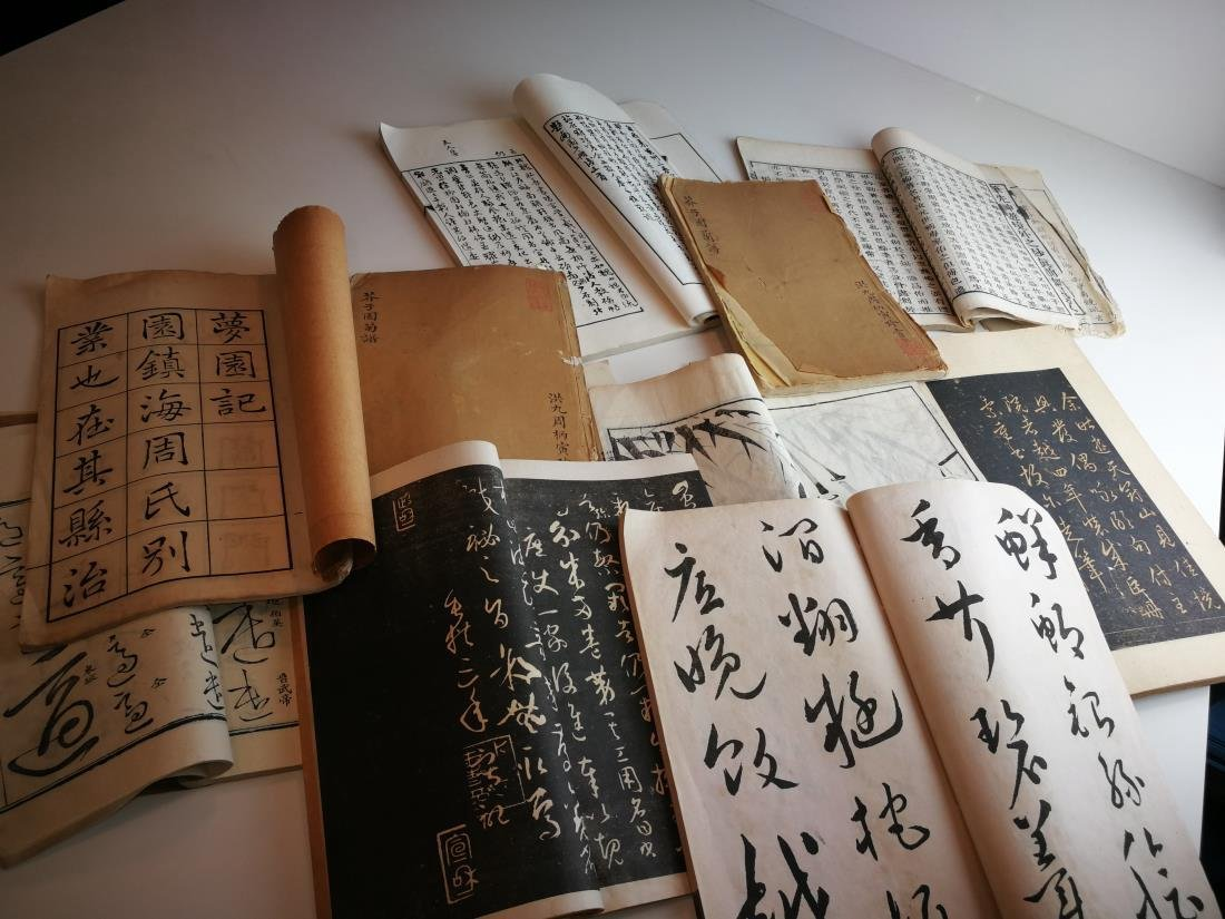 Antique Chinese Books 11 Volumes - 3